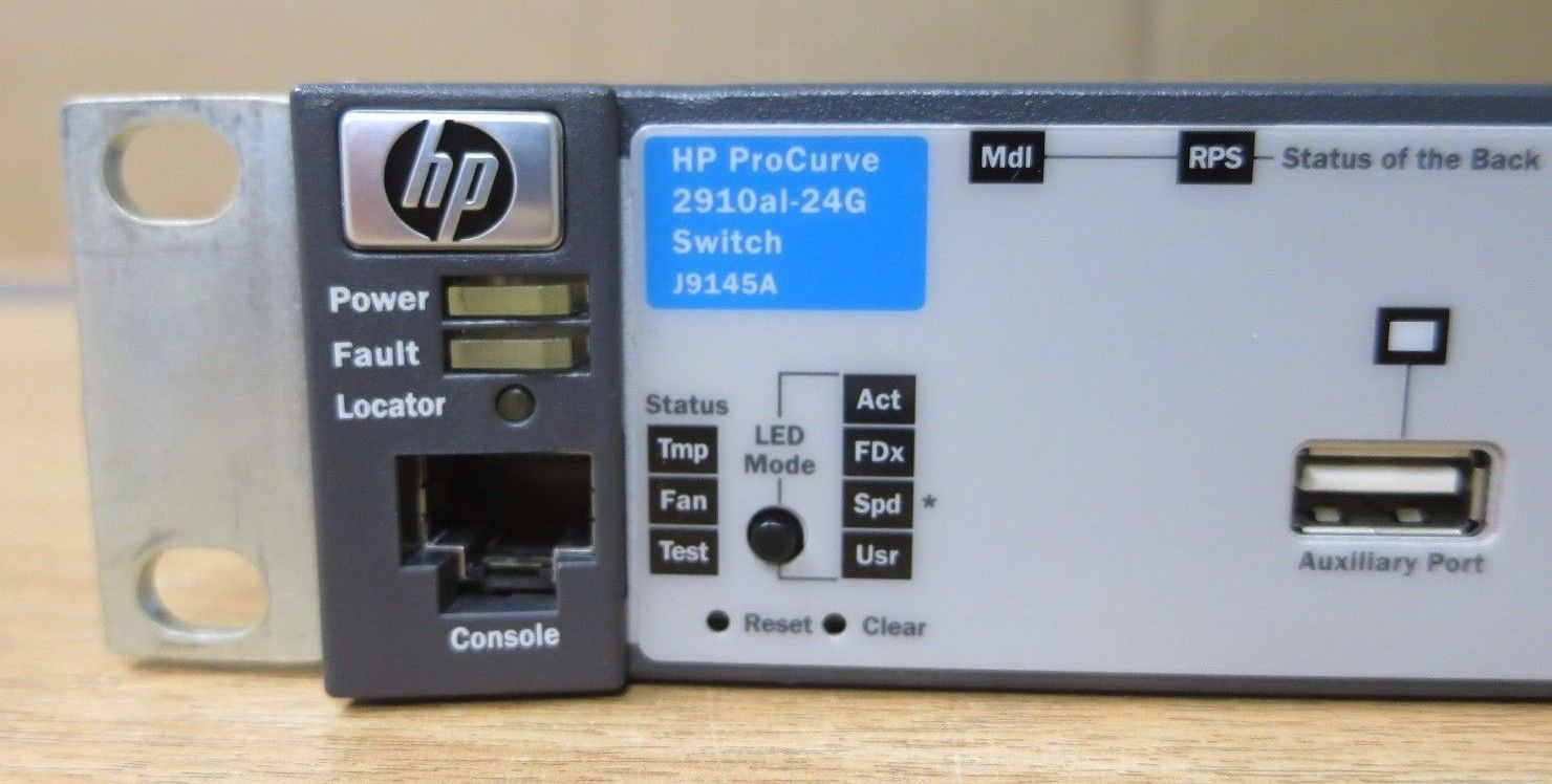 Hp Procurve 2910al 24g Layer 3 Managed Gigabit Ethernet